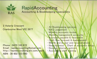 Rapid Accounting Solutions - Accountant Find