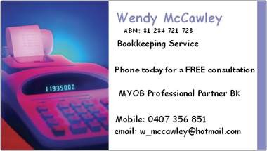 Wendy Mccawley - Accountant Find