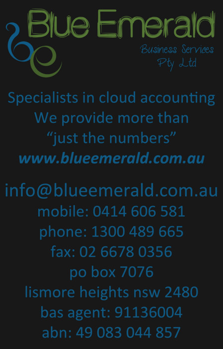 Blue Emerald - Accountant Find