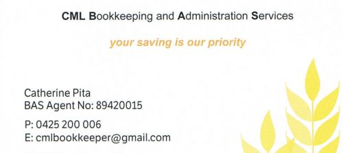 CML Bookkeeping And Administration Services - Accountant Find